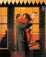 Jack Vettriano: Back Where You Belong