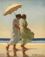 Jack Vettriano: Green and Blue