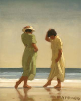 Jack Vettriano: Trailing Toes