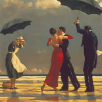 Jack Vettriano: The Singing Butler (Square)