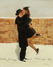 Jack Vettriano: Love Story (Christmas Card)