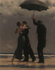 Jack Vettriano: Dancer in Emerald