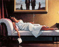 Jack Vettriano: The Letter