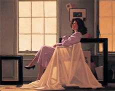 Jack Vettriano: Winter Light and Lavendar